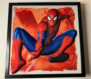 Spider-Man 3D Art By Open Road Brands Hobby Lobby Home Decor 14x14