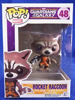 Funko Pop! Vinyl Bobblehead Marvel Guardians of The Galaxy #48 Rocket Racoon
