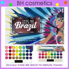 NEW BH Cosmetics 35-Color TAKE ME BACK TO BRAZIL EyeShadow Palette FREE SHIPPING
