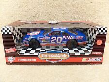 New 1994 Ertl American Muscle 1:18 NASCAR Bobby Hamilton Fina Lube Thunderbird