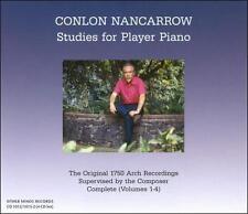 Conlon Nancarrow: Studies for player Piano, New Music