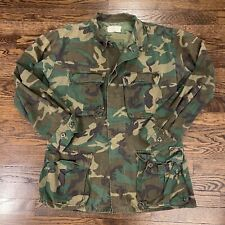 New listing 1966 Us Army Camouflage Jacket 8415-00-945-7653 Small Reg