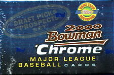 2000 Bowman Chrome Draft Picks Prospects 110 Card Set w/ Gonzalez Rookie HTA