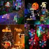 LED Animated Projector Landscape Lights Halloween Home Party Christmas I6R8