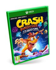 CRASH BANDICOOT 4 IT'S ABOUT TIME XBOX ONE PAL ESPAÑA NUEVO PRECINTADO ESPAÑOL