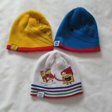Team Canada CHEERIOS BEE REVERSIBLE Toques HATS LOT 3 General Mills Cereal KID