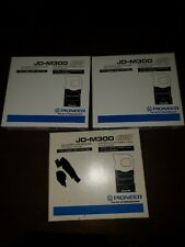 Lot Of 3 Pioneer Jd-M300 6-Disc Cd Changer Magazine Home and Car Changer