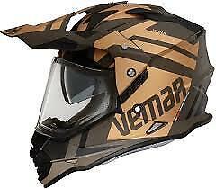 Vemar Kona Desert Motorcycle Helmet: Bronze: Sizes Available