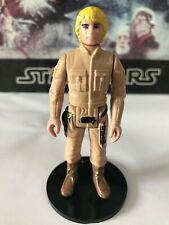 Star Wars Vintage 1980 de Luke: Bespin Raro PBP Amarillo Pelo Oscuro Botas!!!