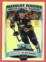 2019-20 Victor Olofsson O-Pee-Chee OPC Platinum Rainbow Marquee Rookie - Sabres