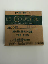 Le Coultre 11Lo Part No 1 Original Genuine Mainspring Tee End With Bridle