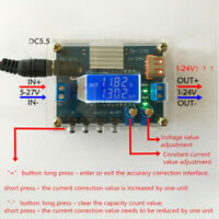 DC-DC Step Down Power Supply Module CVCC Buck Voltage Converter 5V-27V to 1V-24V
