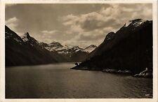 CPA NORWAY Norwegen. Im Fjord (340107)