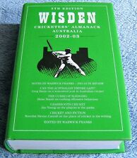 WISDEN - CRICKETERS' ALMANACK AUSTRALIA - 2002 to 2003 - 5th Edition - HCDJ Book