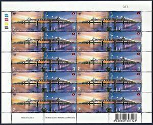 Thailand Stamp 2006 Inauguration of the 2nd Thai-Laos Friendship Bridge FS