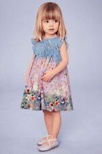 Blue NEXT Sleeveless Dresses (2-16 Years) for Girls