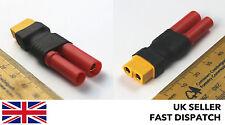 XT60 femelle vers hxt 4mm (balle/banana) adaptateur/connecteur/prise bloc rc voiture/drone