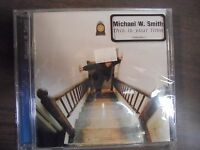 "NEW SEALED CD ""Michael W.  Smith"" This is your time    (G)"