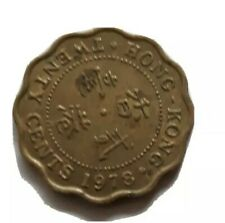 WW2 1978 Hong Kong 20 Cents Foreign Coin