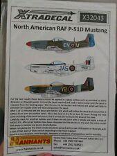 Xtradecal 1/32 P-51D Mustang Mk. IV # 32043