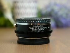Fotodiox Pro Fusion ND Throttle Lens Mount Smart Adapter Canon EF to SONY E