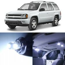 13 x White Interior LED Lights Package For 2002- 2009 Chevy Trailblazer +TOOL