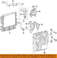 Ram CHRYSLER OEM ProMaster 1500-Radiator Cooling Fan Module Assy 68189000AA