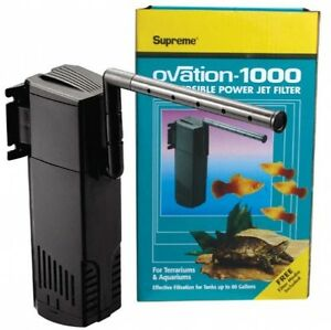 Ovation 1000 Submersible Power Jet Filter - 265 Gph