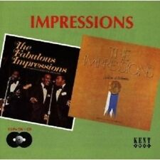 THE IMPRESSIONS - FABULOUS IMPRESSIONS/WE'RE A WINNER  CD NEW!