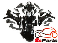 Glossy Black ABS Plastic Injection Fairings Bodywork for 2015-2017 Yamaha YZF R1