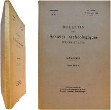 Endogamie Recherches Structures Sociales Chateaudun vol2 1968 Marcel Couturier