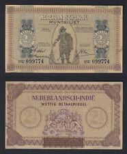 New listing Indie Netherlands - 2½ Gulden 1940 Bb / Vf A-01