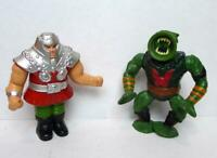 MOTU Action Figures  Leech and Ram Man Vintage Masters of the Universe 1980s M