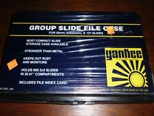 Plastic Yankee Photo Products 35mm, 127 or Instamatic Photo Slide File Case, NOS