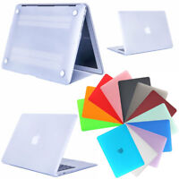 """Rubberized Hard Laptop Clear Shell Case For Apple Macbook Mac Air 13.3"""" / 11.6"""""""