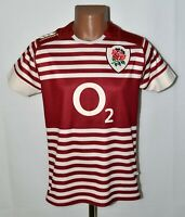 ENGLAND NATIONAL TEAM RUGBY UNION SHIRT JERSEY CANTERBURY SIZE S ADULT
