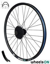 26 inch wheelsON Rear  Wheel MTB + 9 Spd Shimano Cassette HG200-9 11-34T Disc QR