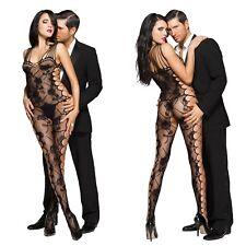 Calze corpo intero Tuta reggicalze rete Intimo Lingerie Catsuit BodyStocking