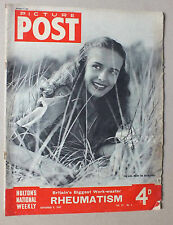 ANCIEN MAGAZINE - PICTURE POST - N° 6 VOL. 37 - 8 NOVEMBRE 1947 *