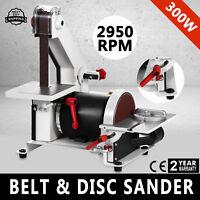 """1"""" x 5"""" Belt Disc Linisher Sander Woodworking Grinder Bench Linisher 30"""" HOT"""