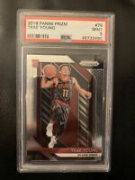 2018 Panini Prizm Trae Young ROOKIE RC #78 PSA 9 MINT
