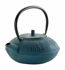Lacor 68661 1L10 - Teiera in ghisa, colore: blu (W0p)