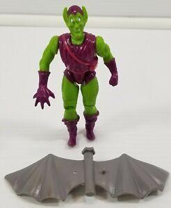 N) 1991 Marvel Superheroes Spider-Man Series Green Goblin Action Figure Toy Biz