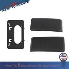 Front Bumper Guards Pads & License Plate Frame Bracket For 2009-2014 Ford F150