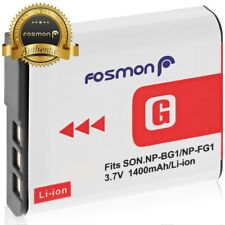 Fosmon NP-FG1 High Capacity Replacement Battery Pack for Sony Type G Battery