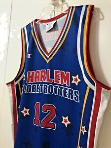 Harlem Globetrotters Basketball Champion Jersey Size S Adult  #12  Ant Atkinson