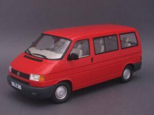1/18 KK-Scale Volkswagen Bus T4 Caravelle 1992 - rot - KKDC180261