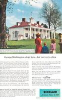 1957 Sinclair Mount Vernon Washington -  Vintage Advertisement Car Print Ad J461