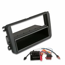 VW Seat Skoda CD Radio Stereo Facia Fascia Surround Fitting Kit Panel Plate