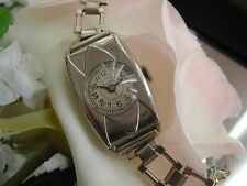 1920's Ladies Art Deco Parissene Design Bezel Elgin Watch~ Runs